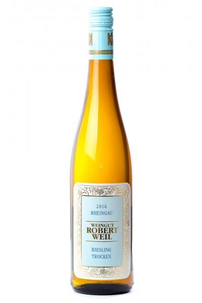 Riesling Qualitätswein 2017, Weingut Robert Weil, Rheingau