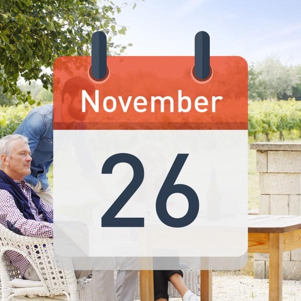 Digitale Weinprobe am 26. November 2021 um 19:30 Uhr
