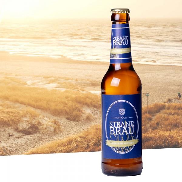 Strandbräu-Pils, Bier 0,33l Flasche