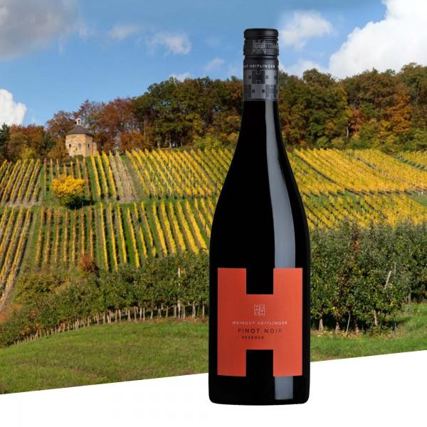 Pinot Noir Reserve 2016 trocken, Weingut Heitlinger