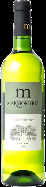 Les Olivettes, La Clape 2016, Château de Marmorières