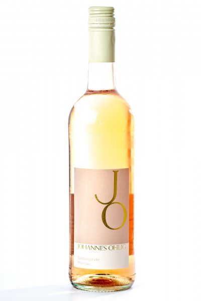 Johannisberger Erntebringer, Spätburgunder Rosé Qualitätswein, Johannes Ohlig