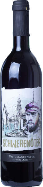 Schwerenöter 2017, Hanseatischer Rotspon, Weinmanufaktur von Oven