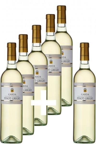 5+1-Paket: Garda DOC/DOP Pinot Grigio