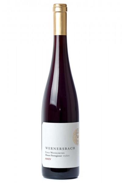 Hesslocher Edle Weingärten Blauer Portugieser trocken, Weingut Wernersbach