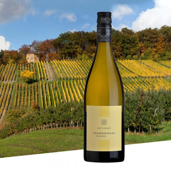 Chardonnay Reserve 2018 trocken, Weingut Heitlinger