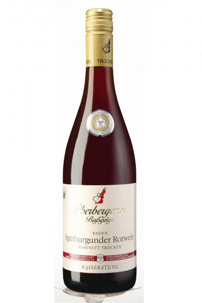 Oberbergener Baßgeige, Spätburgunder Qualitätswein, Baden