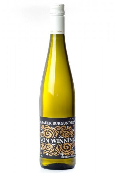 Grauburgunder Qualitätswein, Weingut von Winning, Pfalz
