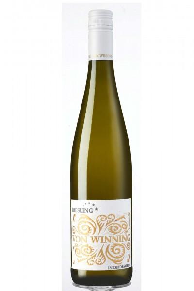Riesling Qualitätswein, Weingut von Winning, Pfalz
