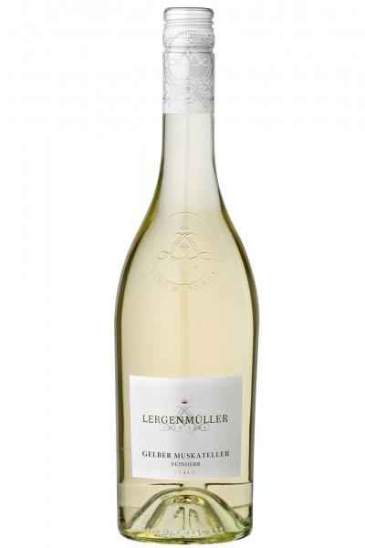 Gelber Muskateller Qualitätswein, Weinhaus Lergenmüller, Pfalz
