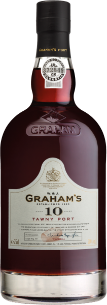 Graham's 10 Years Old Tawny Port trocken, Symington Family Estate