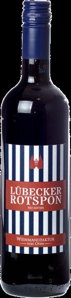 Lübecker Rotspon Red Edition 2017, Weinmanufaktur von Oven