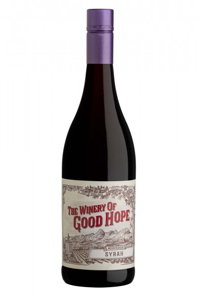 Syrah Mountainside 2015 trocken, The Winery of Good Hope