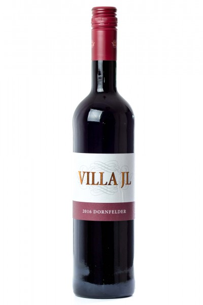 Dornfelder Qualitätswein halbtrocken, Villa JL
